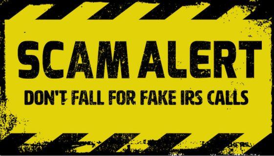 IRS Scam Alert- Erroneous Refunds & Fake Calls-blog