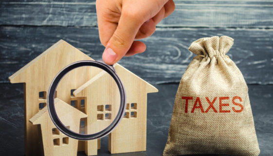 Tax on sale Home